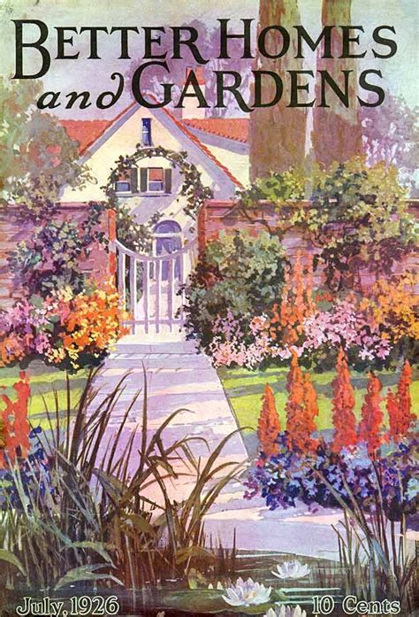 Better Homes And Gardens 192607  Vintage Garden Art