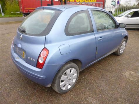 nissan datsun micra k12 1 2 16v salvage year of
