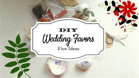 5 Creative Wedding Favor Ideas (part 2)