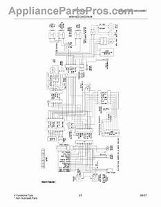 Parts For Frigidaire Frs26kf6emb  Wiring Diagram Parts