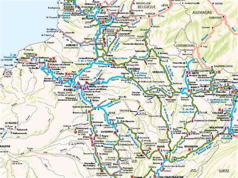 Carte Fluviale Haut De by Presentation Croisieres