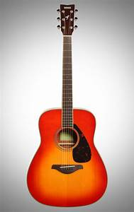 Yamaha Fg820 Folk Acoustic Guitar  Autumn Burst