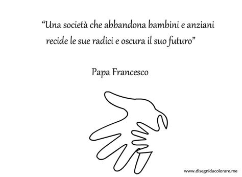 frasi sui colori per bambini frase di papa francesco sugli anziani e i bambini
