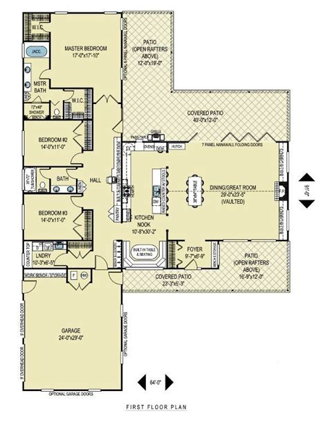 l shaped master bedroom floor plan t shaped house plans found on houseplans com home 20653 | 2daf41b3a40451b1471d4075975cc0c1