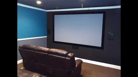 diy garage home theater conversion   budget youtube