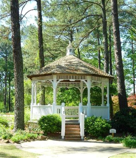 butler gazebo picture of cape fear botanical garden