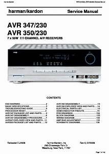 Harman Kardon Avr 347  Serv Man3  Service Manual  U2014 View Online Or Download Repair Manual
