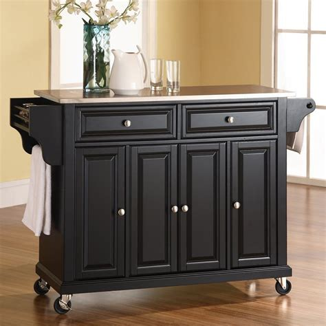 cart walmart kitchen utility cart solid beechwood walmart Kitchen