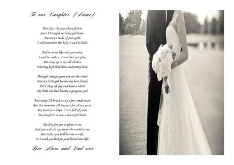 poem   bride   wedding day keepsake