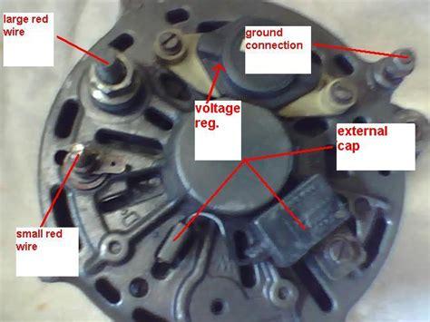 alternator problems burning wires   volvo