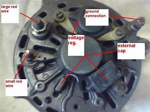 Alternator Installation And Cluster Lamp Idiot Light Wiring Diagram