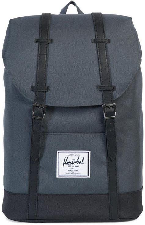 herschel rucksack mit laptopfach retreat backpack dark