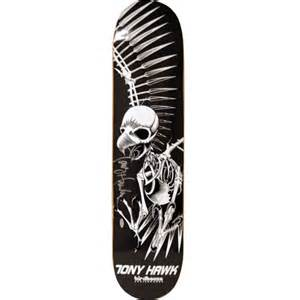 all american collectibles tony hawk signed full skull