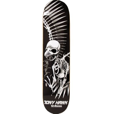 Tony Hawk Signed Skate Deck by All American Collectibles Tony Hawk Signed Skull