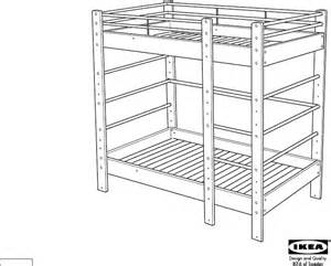 download ikea lo bunk bed frame twin assembly instruction