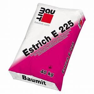 Estrich Beton 40 Kg Preis : baumit estrich e 225 40 kg k rnung 0 4 mm bauhaus ~ Michelbontemps.com Haus und Dekorationen