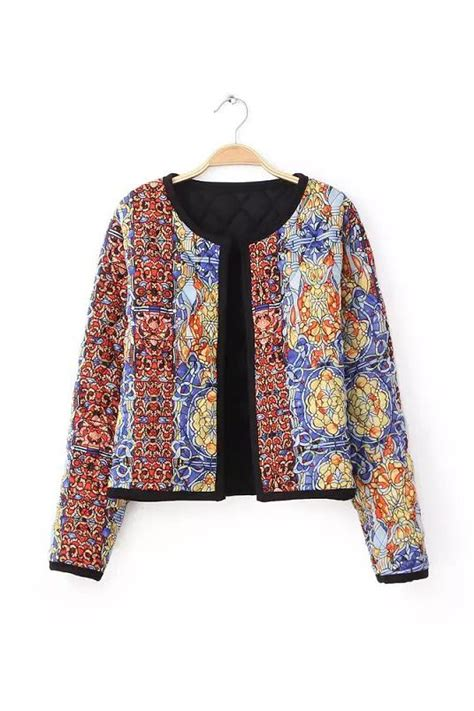 goodnight macaroon batik quilted cotton jacket  usd