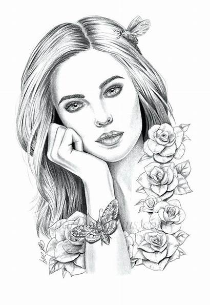 Coloring Pages Adult Realistic Whitesbelfast Save Credit