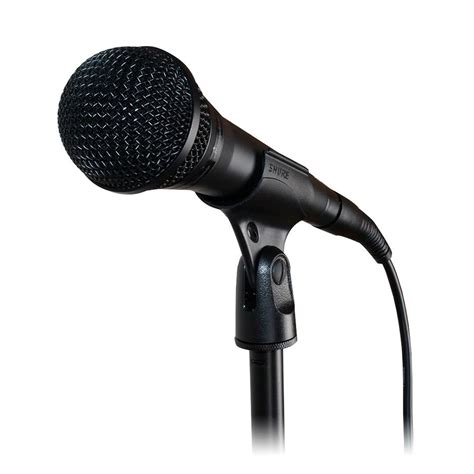 Microfone com pedestal Shure PGA58-BTS | Quanta Store