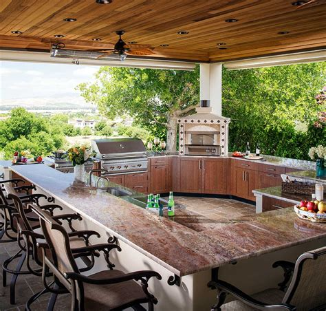 outdoor kitchen ideas brown jordan outdoor kitchens