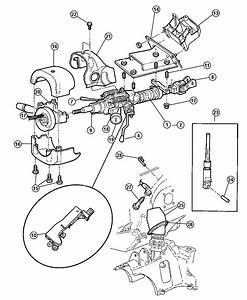 Dodge Durango Interlock  Steering Column   Tilt Steering