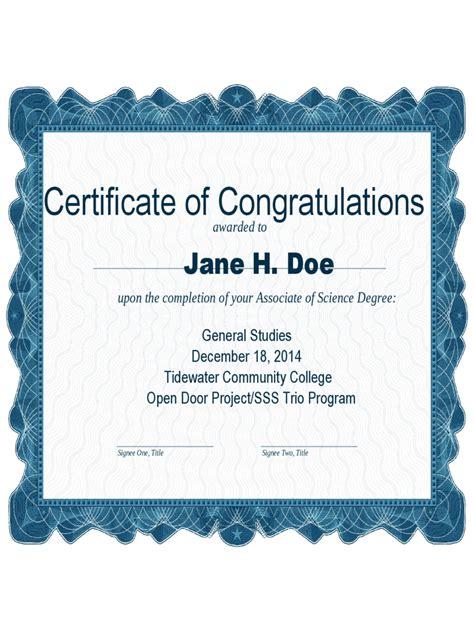 congratulations certificate templates congratulations certificate 4 free templates in pdf