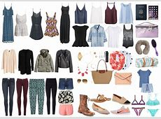 What to Pack for a Summer in Europe The College Tourist