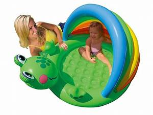 Baby Planschbecken Mit Dach : intex recreation froggy fun baby pool age 1 3 product8 ~ Watch28wear.com Haus und Dekorationen