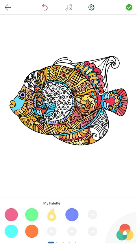 animal coloring pages  adults  android ios  windows phone