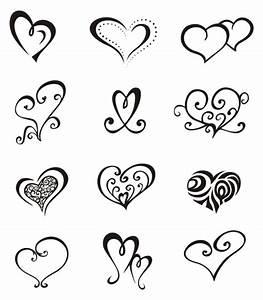 Heart Star Tattoo Designs - Cliparts.co