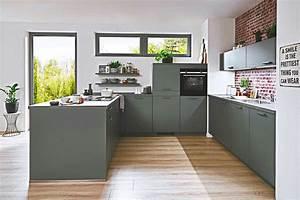 U Küche : u k che schiefergrau beton optik nur f r bei kuechen boerse ~ A.2002-acura-tl-radio.info Haus und Dekorationen