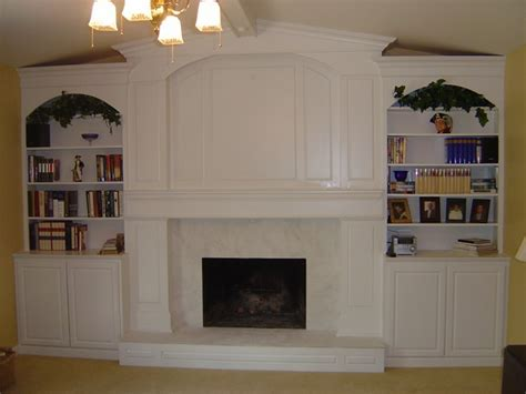 Fireplace With Bookcase Surround by Built In Bookcase Designs Around Fireplace Woodworker