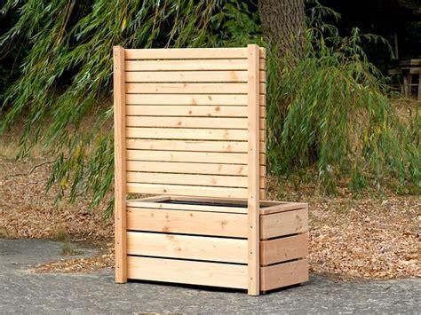 Pflanzkasten Als Sichtschutz by Pflanzkasten Mit Sichtschutz Heimisches Holz Made In