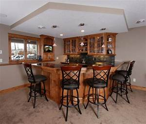 Simple basement bar ideas decoseecom for Simple basement bars