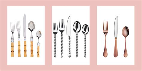 flatware sets modern styles lead