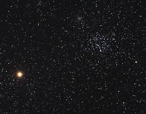 APOD: 2006 April 19 - Mars and the Star Clusters