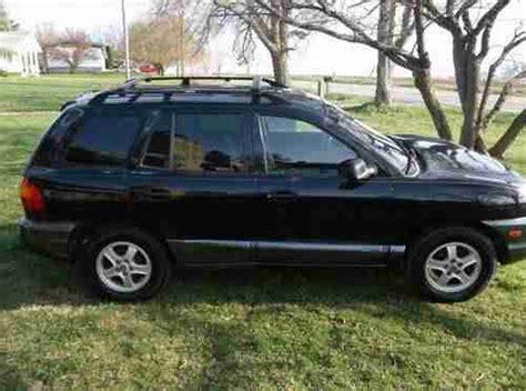 old car manuals online 2001 hyundai santa fe find used 2001 hyundai santa fe gls 2 4l 4 cylinder 5 speed in leesburg ohio united states