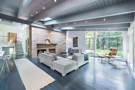 mid century modern home design  flavin architects caandesign architecture  home design blog