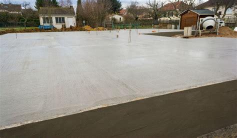 faire une dalle en beton exterieur prix d une dalle de b 233 ton