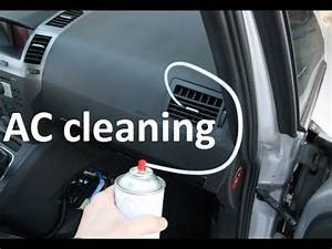 How To Clean  Treat Air Conditioning On A Car With