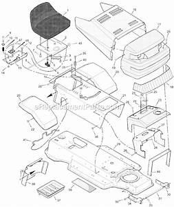 Murray Lawn Mower Belt Diagram 38 Inch