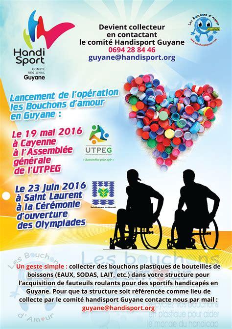 Collecte Bouchons Plastiques Fauteuil Roulant by Handisport 23 Juin 2016 Lancement De L Op 233 Ration Quot Les
