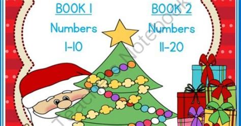 My Christmas Counting Books (numbers 1-10 & 11-20) From By