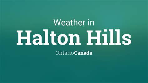 weather  halton hills ontario canada