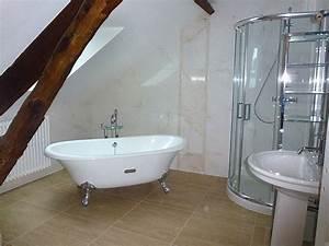 Rénovation Salle De Bain : am nagement salle de bain saint nazaire douche lavabo ~ Premium-room.com Idées de Décoration
