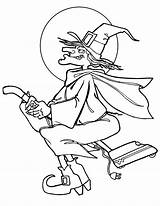 Witch Coloring Pages Printable sketch template