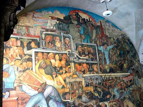 murals in mexico city the history of mexico mural