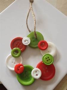 30 Unique Button Christmas Ornaments You Can't Miss - MagMent