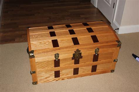 woodwork steamer trunk plans wood  plans