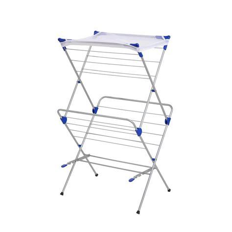 best drying rack honey can do 2 tier mesh top drying rack 01104 the
